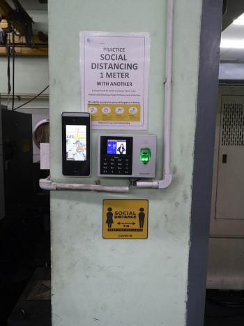 Xface600 is a facial recognition terminal Zkteco