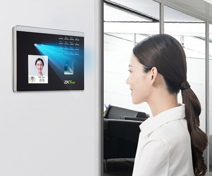 Wifi Facial Recognition Time Attendance ZK-Xface100
